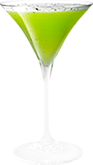 Cracked Pepper Melon Martini