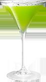Cracked Pepper Melon Martini