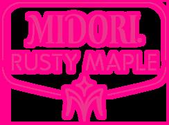 MIDORI<sup>®</sup><br> RUSTY MAPLE