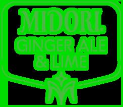MIDORI<sup>®</sup><br>Ginger Ale & Lime