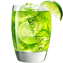 MIDORI<sup>®</sup><br>Ginger Ale &amp; Lime